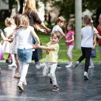 Plesna igralnica za predšolske otroke